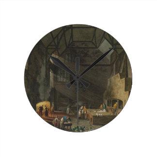 Interior de la cocina trinidad Cambridg Relojes De Pared