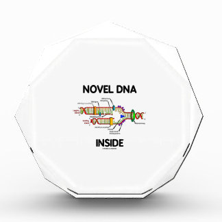 Interior de la DNA de la novela humor de la biolo