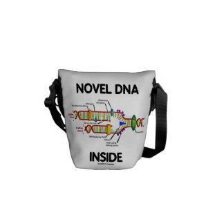 Interior de la DNA de la novela (humor de la biolo Bolsas Messenger