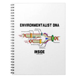 Interior de la DNA del ecologista (réplica de la Cuadernos