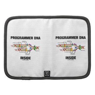 Interior de la DNA del programador réplica de la Organizadores