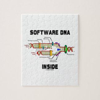 Interior de la DNA del software (réplica de la DNA Rompecabezas