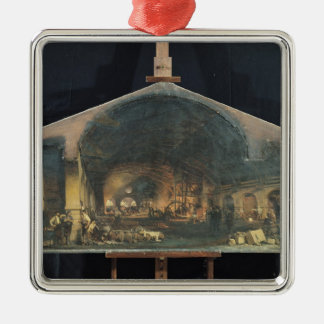 Interior de la fragua en Fourchambault Adorno Para Reyes