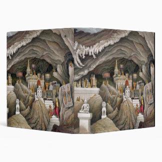 "Interior de la gruta de Nam Hou, Laos, de 'Atl Carpeta 1 1/2"""