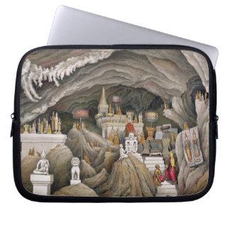 Interior de la gruta de Nam Hou, Laos, de 'Atl Manga Computadora