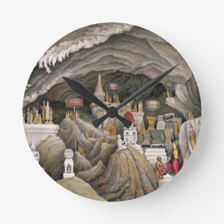 Interior de la gruta de Nam Hou, Laos, de 'Atl Reloj Redondo Mediano