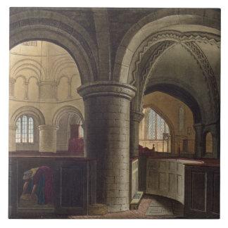 Interior de la iglesia del sepulcro santo, Camb Azulejo Cuadrado Grande