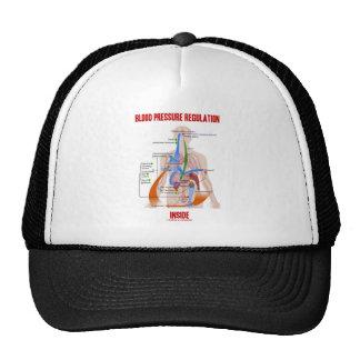 Interior de la regulación de la presión arterial gorras de camionero