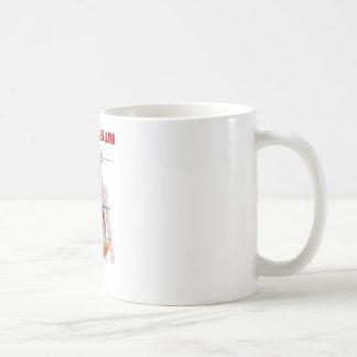 Interior de la regulación de la presión arterial taza de café