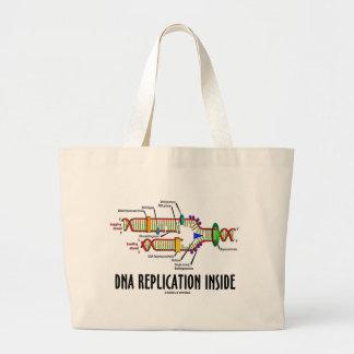 Interior de la réplica de la DNA (actitud de la DN Bolsa De Mano