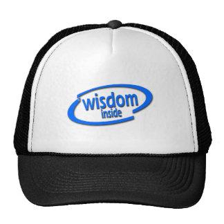 Interior de la sabiduría - Intel divertido parodia Gorras De Camionero