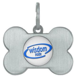 Interior de la sabiduría - Intel divertido parodia Placa Mascota
