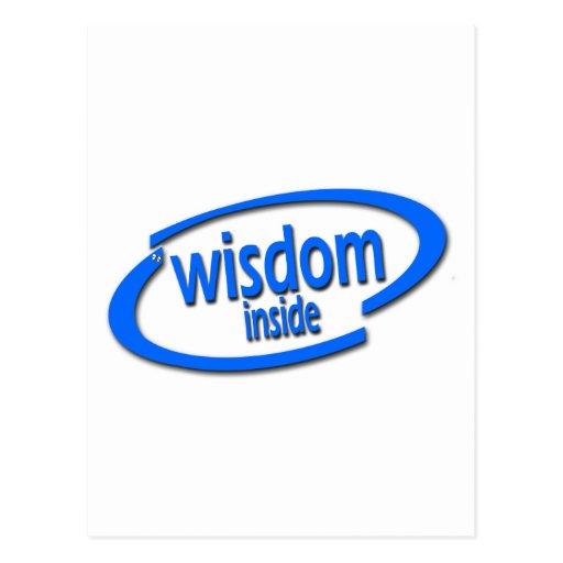 Interior de la sabiduría - Intel divertido parodia Postales