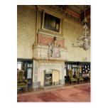 Interior de la sala de estar veneciana postales
