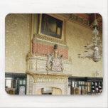 Interior de la sala de estar veneciana tapete de ratón