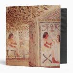 Interior de la tumba de Sennefer, nuevo reino