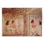 Interior de la tumba de Sennefer, nuevo reino Felicitación