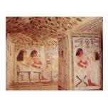 Interior de la tumba de Sennefer, nuevo reino Postal