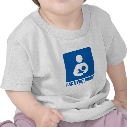 Interior de Lactivist (muestra de amamantamiento d Camisetas
