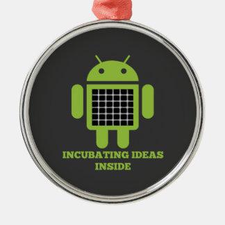 Interior de las ideas de la incubación (ilusión de ornamento de navidad