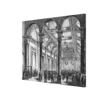 Interior de Lloyd de Londres Lona Estirada Galerías