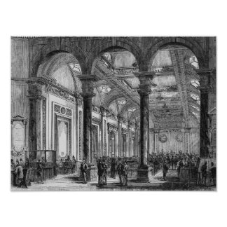 Interior de Lloyd de Londres Posters