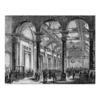 Interior de Lloyd de Londres Tarjetas Postales
