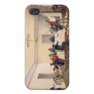 Interior de los cuartos principales de señor iPhone 4 fundas
