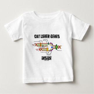 Interior de los genes del amante del gato (réplica poleras