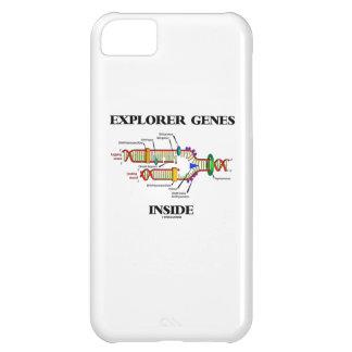 Interior de los genes del explorador (réplica de funda para iPhone 5C