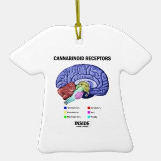 Interior de los receptores de Cannabinoid Adorno