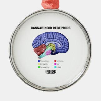 Interior de los receptores de Cannabinoid Ornamente De Reyes