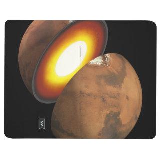 Interior de Marte Cuaderno Grapado