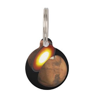 Interior de Marte Identificador Para Mascota