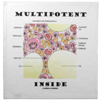 Interior de Multipotent (humor de la formación del Servilletas