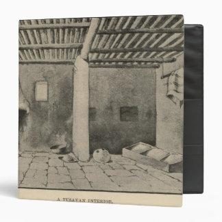 """Interior de Tusayan Carpeta 1 1/2"""""""