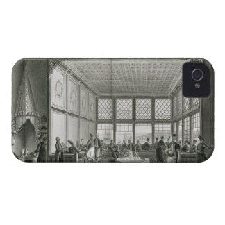 Interior de un café público en Constantinopla por Case-Mate iPhone 4 Carcasa