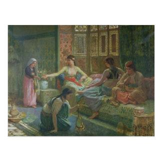 Interior de un Harem, c.1865 Postales