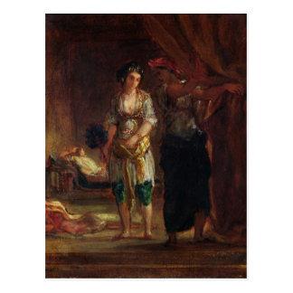 Interior de un Harem en Orán, c.1847 Postales