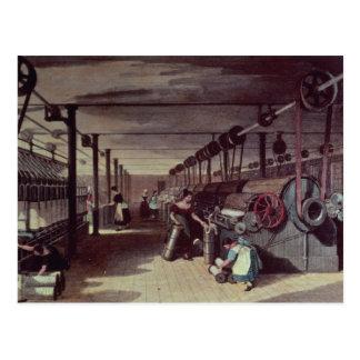 Interior de un molino tarjetas postales