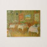 Interior de un restaurante de Vincent van Gogh Rompecabezas Con Fotos