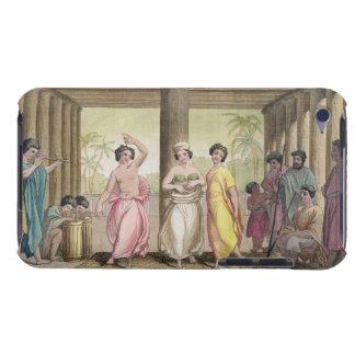 Interior de una casa con los chicas de baile, i de iPod Case-Mate coberturas