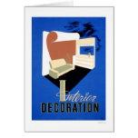 Interior Decoration 1940 WPA