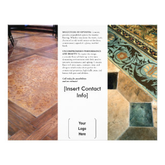 Interior Decorative Concrete Brochure