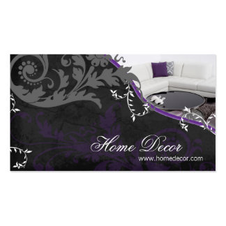 Interior Decorator Business Card - Sophisticated