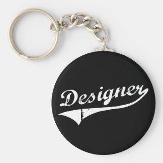 Interior Decorator Designer Basic Round Button Keychain