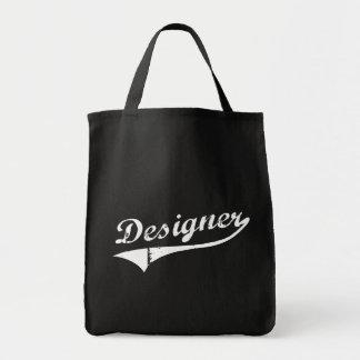 Interior decorator designer gift grocery tote bag