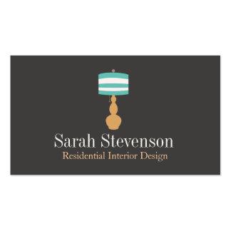 Interior Decorator Lamp Designer Business Card