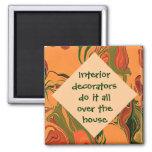 interior decorators joke magnets