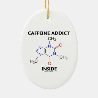Interior del adicto a cafeína (molécula del adornos de navidad